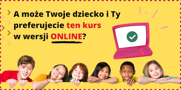 Język angielski dla dzieci online kurs