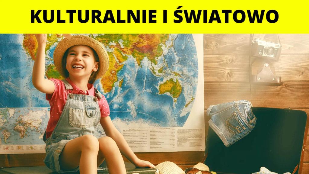 Półkolonie letnie dla dzieci turnus Kulturalnie i Światowo