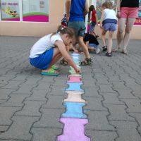 malowanie kredą ferie