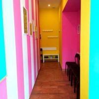 Retkinia korytarz baby english center