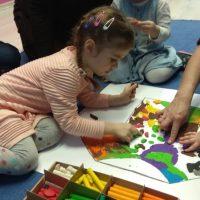 Hiszpański dla dzieci - bebe espanol - plastelinowe obrazy